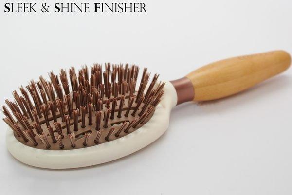 EcoTools Sleek + Shine Finisher Brush 美髮梳 7494# 3