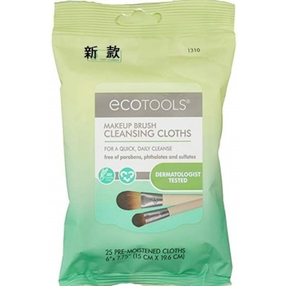 Ecotools Makeup Brush Cleansing Cloths 化妝刷清潔巾 25片裝 1