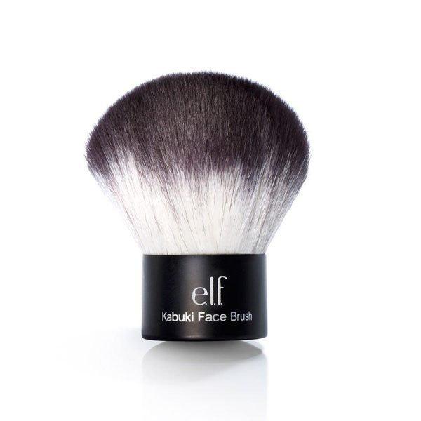ELF 黑柄 Kabuki Faced Brush 專業歌舞伎刷/蘑菇刷 蜜粉刷 1