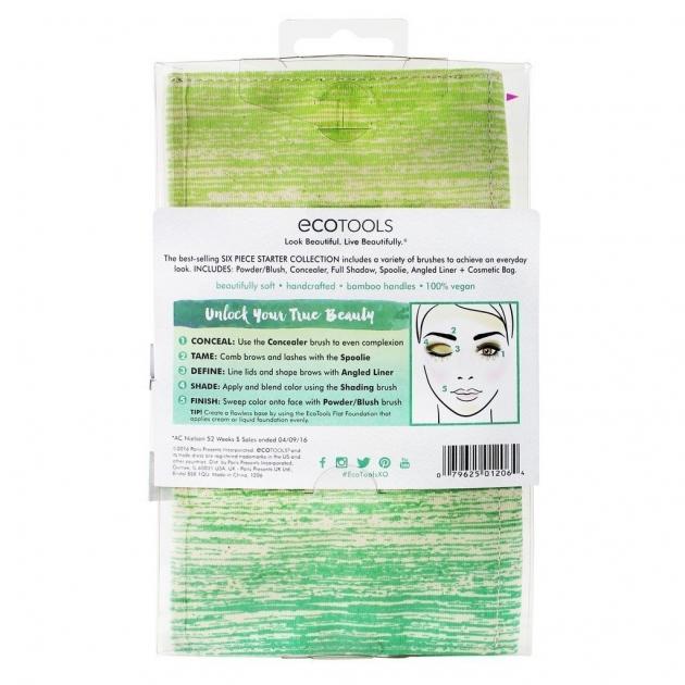 EcoTools Bamboo 6 Piece Brush 1206# 6件化妝刷具組 3