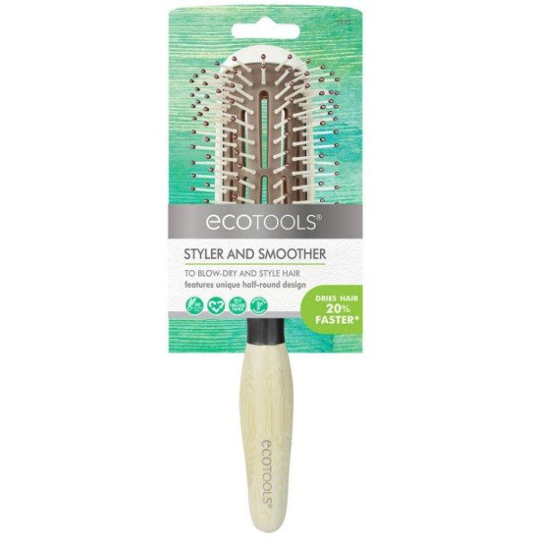 EcoTools Styler + Smoother Brush 平滑梳 7493# 1