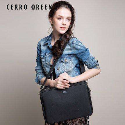 Cerro Qreen 專業黑色收納隔板大款化妝箱 化妝包彩妝 化妝刷 收納箱 新秘/彩妝師 3