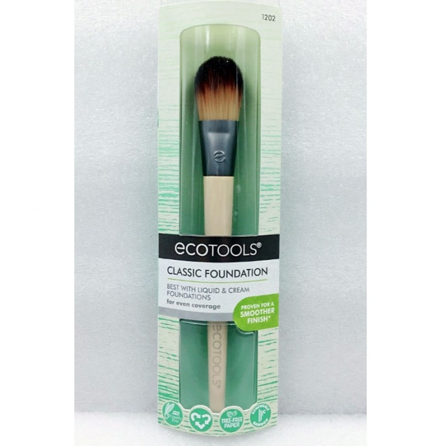 Ecotools Classic Foundation Brush #1202粉底刷 化妝刷 1