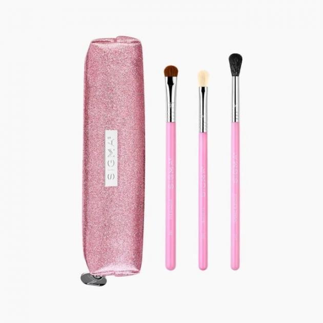 PASSIONATELY PINK BRUSH SET 粉紅色 眼部刷具組 7
