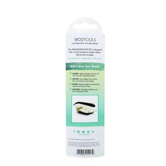 EcoTools Eye Enhancing Duo Set 眼部加強雙頭2件化妝刷組1217# 4