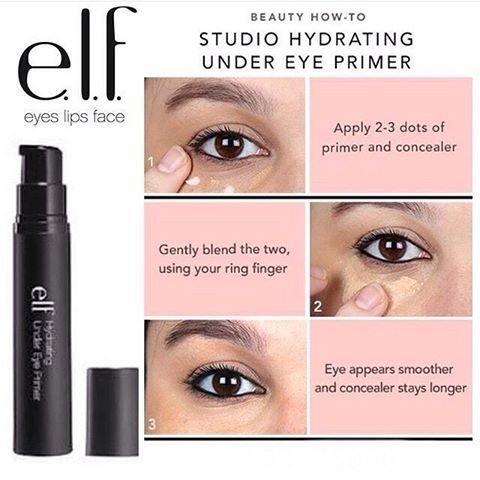 ELF Hydrating Under Eye Primer眼部保濕打底乳眼影打底膏 2