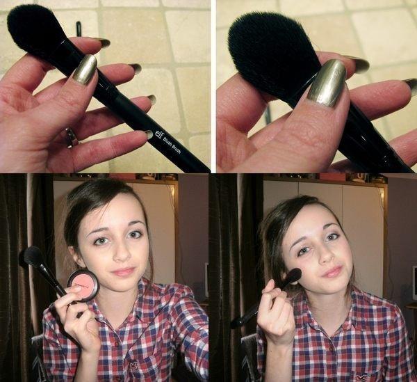 e.l.f Blush Brush 84011#腮紅刷化妝刷抗菌刷毛材質 2