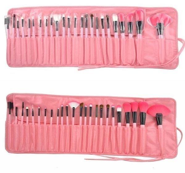粉紅色專業24件 MAKE-UP FOR YOU 彩妝刷具組 乙 丙 級考試 批發非專櫃品 3