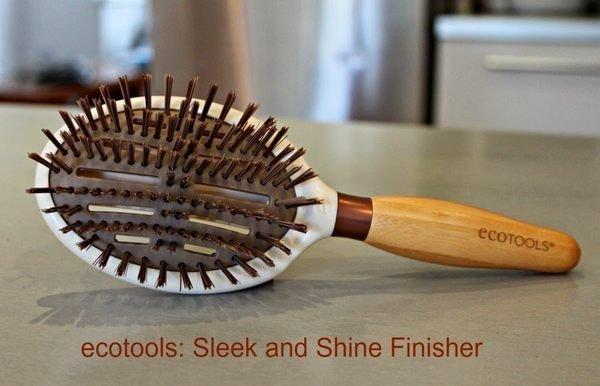 EcoTools Sleek + Shine Finisher Brush 美髮梳 7494# 2