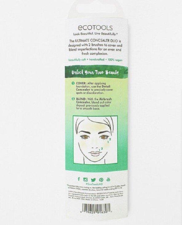 EcoTools Ultimate Concealer Duo #1630 遮瑕刷組 專業化妆刷 3