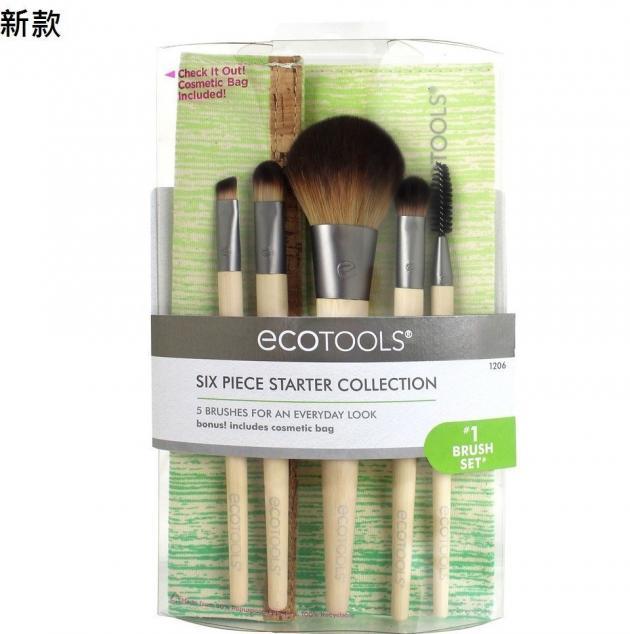 EcoTools Bamboo 6 Piece Brush 1206# 6件化妝刷具組 1