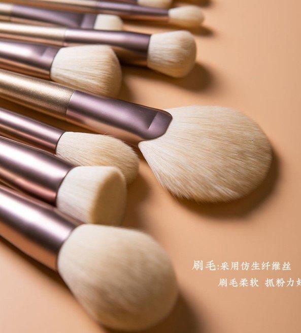 Cerro Qreen18支和風化妝刷套裝 網紅刷子化妝套裝 腮紅刷 粉底刷 眼影刷 專利商標品牌 6