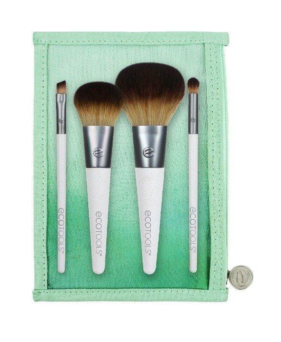Ecotools On The Go Style Kit #1613 旅行刷具套裝 4件刷具+收納袋 3