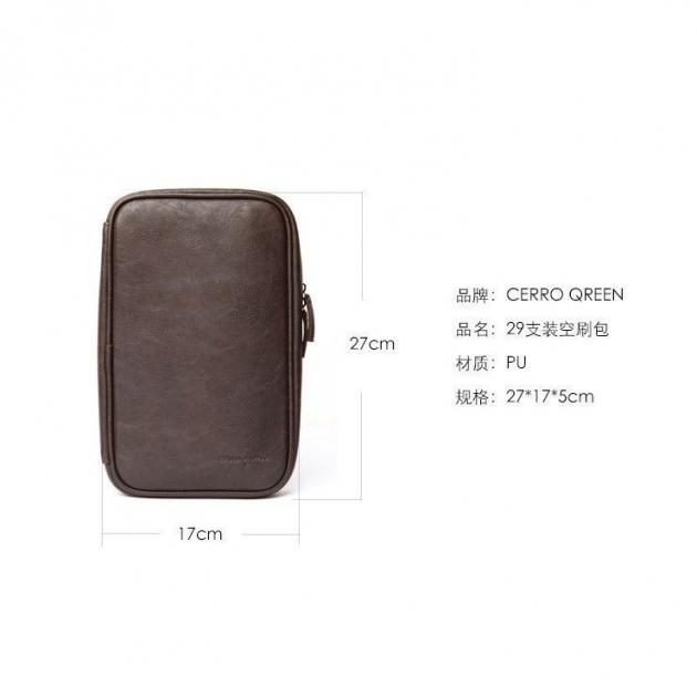 Cerro Qreen 多功能化妝刷包可容納 29支化妝刷 (不含刷具) 刷包 化妆包 4