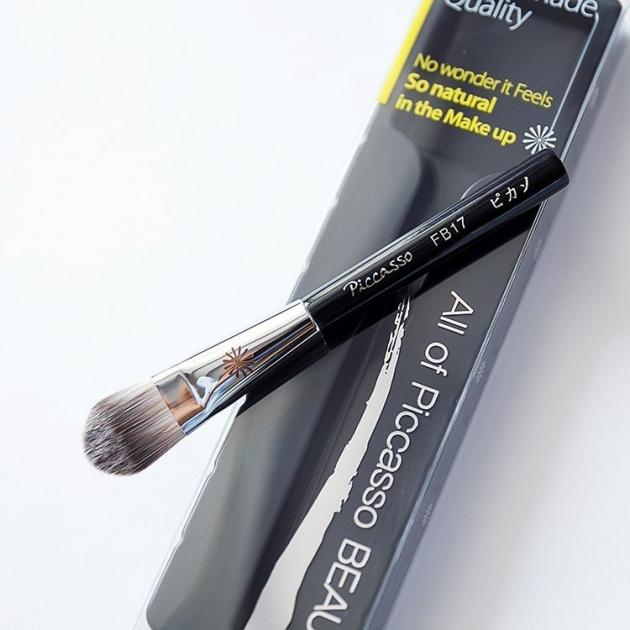 PICCASSO FB17 舌型粉底刷 化妝刷 3