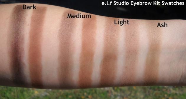 elf Studio Eyebrow Kit專業系列眉膠眉粉組合附刷子 4色可選 2