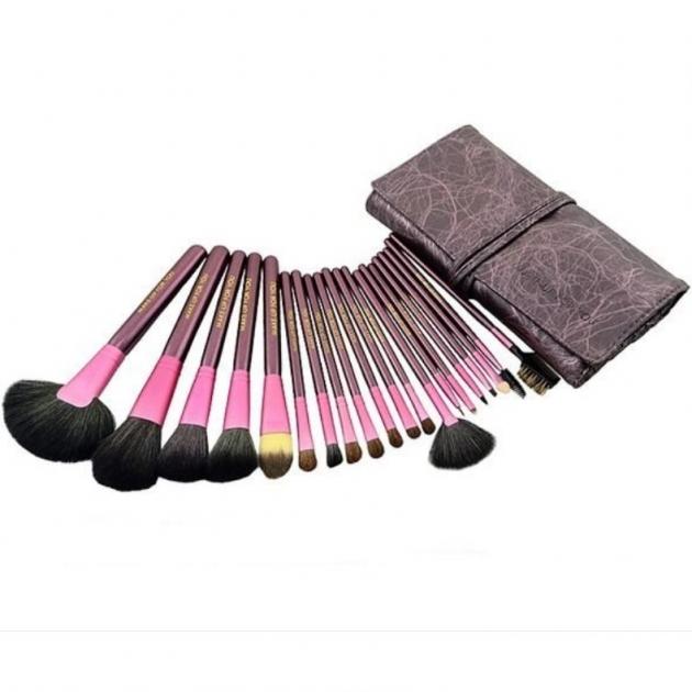 紫色高質感20件彩妝刷具組 乙丙級考試專用刷具 化妝刷批發 1