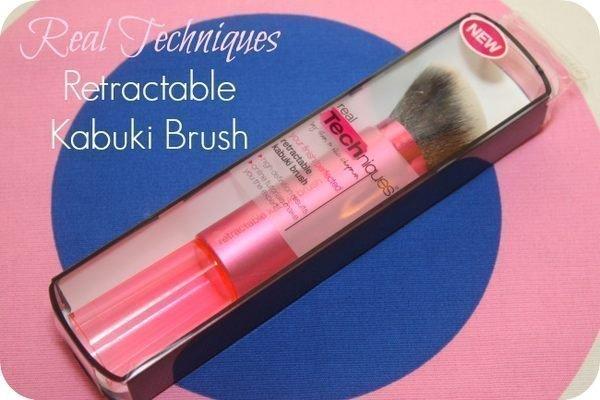Real Techniques Retractable Kabuki Brush新款專業伸縮多功能粉底腮紅刷臉部化妝刷 5