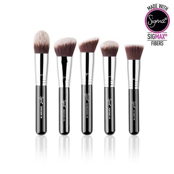 SIGMAX KABUKI BRUSH KIT 高清粉底五件化妝刷彩妝刷具組 1
