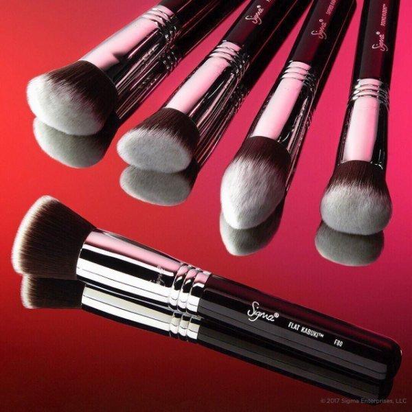 SIGMAX KABUKI BRUSH KIT 高清粉底五件化妝刷彩妝刷具組 2