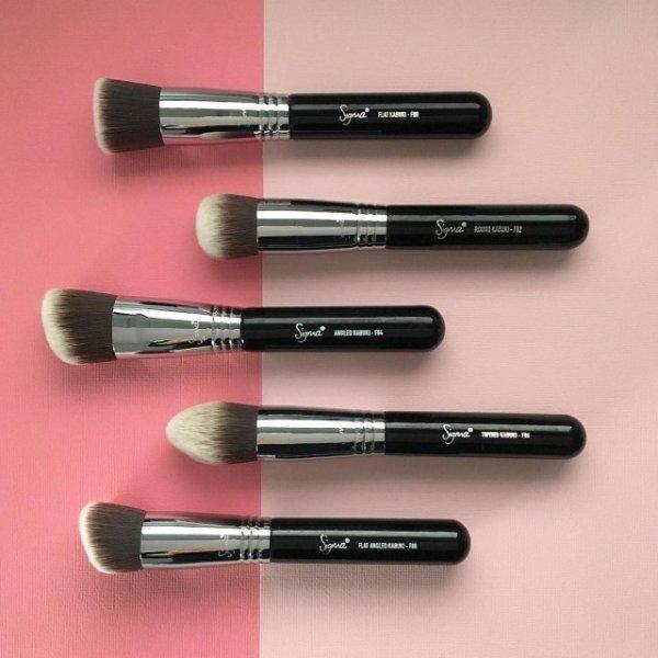 SIGMAX KABUKI BRUSH KIT 高清粉底五件化妝刷彩妝刷具組 3