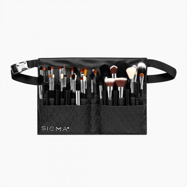PRO ARTIST BRUSH BELT 化妝包 工具包 收納包 旅行外出用包 黑色專業化妝刷腰包 1